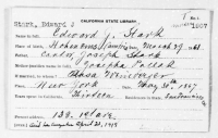 Registerkarte E. Stark