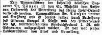Armeerabbiner Aron Tänzer ausgezeichnet Notiz im 'Frankfurter Israelitischen Familienblatt', 29. Dezember 1916