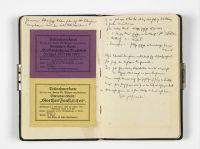 Tagebuch Aron Tänzer, um 1920