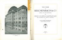 The Firm of Reichenbach & Co Since its Foundation, St. Gallen: Zollikofer & Co, 1914