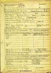 Todesfallanzeige Siegfried Brodnitz Theresienstadt 17.9.1942