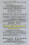 Wahlplakat der antisemitischen 'Schweizer Christenwehr'