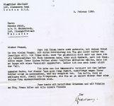 Walter Singer Briefwechsel Graubart Siegfried 1939