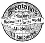 Werbung für Brentano Books