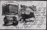 Postkarte aus der Fango-Heilanstalt