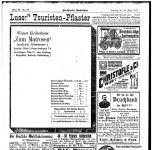Anzeige des Wiener Kleiderhaus Zum Matrosen in Innsbruck Innsbrucker Nachrichten, 22.3.1913