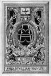 Bookplate (Exlibris) von Arnold William Brunner