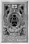 Bookplate (Exlibris) von Arnold William Brunner