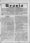 Rudolf Trebitsch: 'Rassenfragen', in: Urania. Wochenschrift für Volksbildung, 28.4.1917, 10. Jg., Nr. 17. 1. Teil