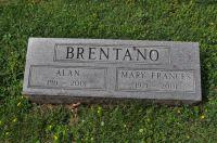 Grabstein Alan Brentano