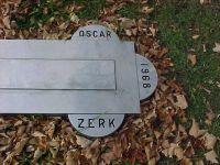 Grab von Oscar Ulysses Zerk