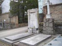 Grab von Rudolf Trebitsch, Oscar und Victoria Trebitsch, Margarethe Mary de Tausig (geb. Trebitsch) (Grab links)