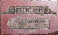 Grabstein von Maximilian Brentano