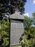 Grabstein von Jacob und Rosalie Perlhefter