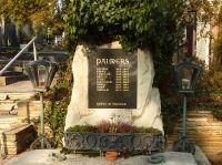 Grabstein der Familie Palmers