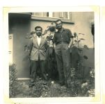 Ernst Loewy und Jehuda Ben Josef, Sommer 1958