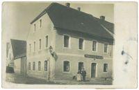 Haus von Benjamin und Julie Löwy in Waidhaus, um 1900