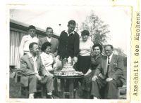 Hochzeit Ernst Lamm (Yehuda Ben Josef) mit Eleanor (Ilana) Zukoff, Kibbuz Yass'Ur, Februar 1961