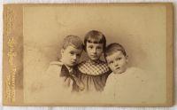 Richard, Olga und Paul Jaffe