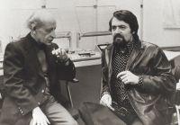 Jean Améry und Leo Haffner, 1977