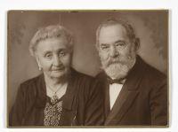 Rachel Dreyfuss-Weil und Jakob Weil um 1920