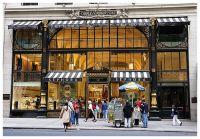 Der ehemalige Brentano's Bookstore auf der Fifth Avenue, New York