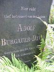 Grabstein für Adolf Burgauer (1837-1904)
