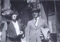 Carl Einstein und Florence Henri, Berlin 1923