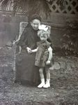 Charlotte Rosenthal mit Waltraud Drexel, 1925