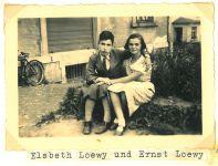 Elsbeth Loewy und Ernst Loewy, Helmbrechts 1935
