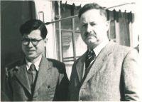 Ernst und Richard Loewy, um 1956