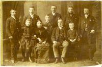 Familie Abraham und Wilhelmine Rohleder