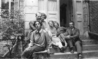 Familie Goldstern in Wien, um 1920