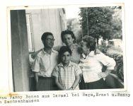 Familie Loewy mit Fanny Bonen