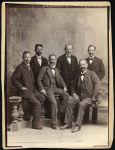 v.l.n.r.: Hermann Brettauer (St. Gallen), Ferdinand Brettauer (Bregenz), Carl Brettauer (Berlin, später Zürich), Eugen Brettauer (Wien), Josua Brettauer (St. Gallen), Gustav Brettauer (Bologna)