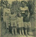 Frieda Schaller (Kiefer), Nurith Armoni (Schaller) und Michael Armoni, Dorith Armoni und Ronny Loewy