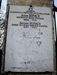 Gedenkstein für die Familie Reinach