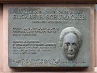 Gedenktafel für Elisabeth Schumacher-Hohenemser