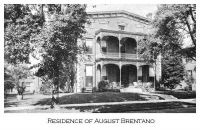 August Brentano Residence in Evansville, Indiana