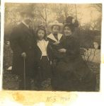 Familie Levy, 1901