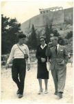 Jonathan, Jenny und Richard Errell, Athen
