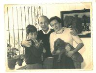 Jonathan, Richard und Jenny Errell