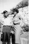 Ernst Loewy und Regina Schaller, um 1940
