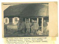 Richard Loewy und Kameraden, Monzewitsch (Litauen) 1916