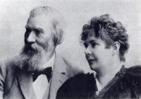 Moritz Lazarus und Nahida Ruth Lazarus, um 1895