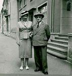 Otto Burgauer und Betty Kahn-Burgauer