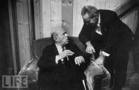 Pablo Casals und Felix Galimir, 1966