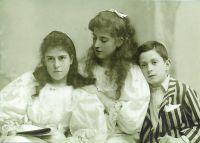 Rosalie, Gabrielle und Walter-Frank Perlhefter