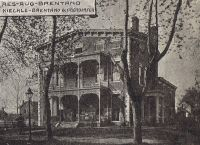 Residence August Brentano, Evansville