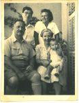 Richard, Ernst, Regina, Erna und Ronny Loewy, 1946